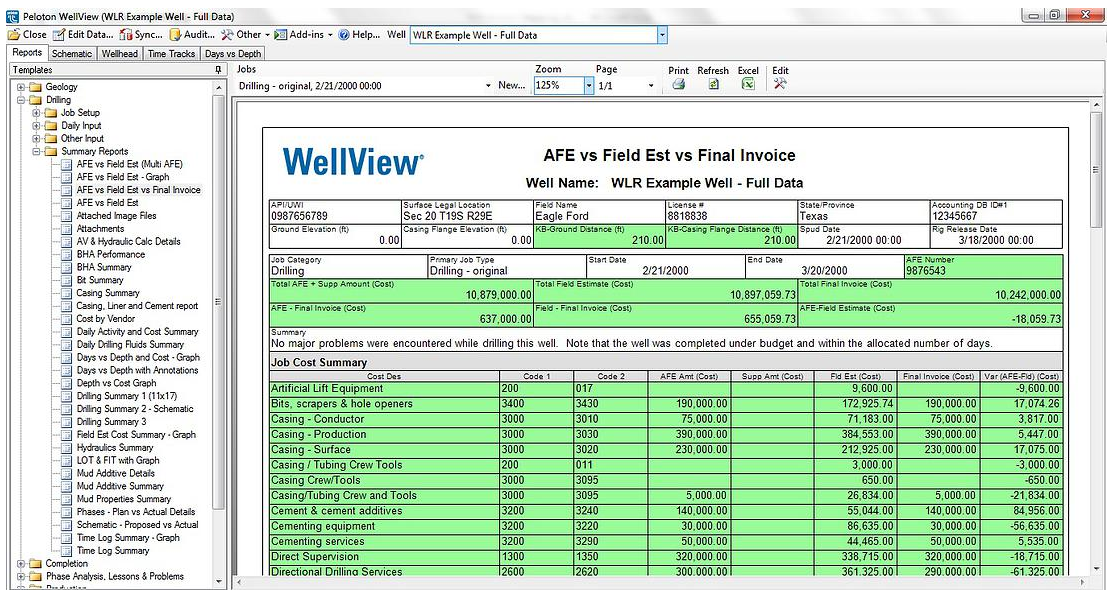 WLR Invoice Import - Integrate Accounting with WellView